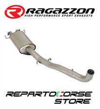 RAGAZZON SCARICO CENTRALE INOX ALFA ROMEO 75 KAT 2.5 V6 Q.ORO 1988- 1993