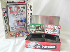 TOP TRUMPS SPECIAL EDITION ONE DIRECTION 1D COLLECTORS TIN WITH 2 GAME PACKS