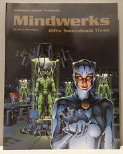 Palladium Books: Mindwerks Rifts Sourcebook 3 RPG