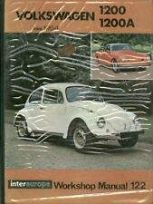 VW BEETLE 1200 ( INCL OVAL ) & KARMANN GHIA 1200 1954 - 1964 OWNER REPAIR MANUAL