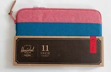 "Herschel Mac Book Air Case Cover 11 "" Inch Blue Red Zipped Sleeve Brand New"