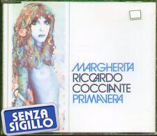 """RICCARDO COCCIANTE """" MARGHERITA + PRIMAVERA """" CD's SINGOLO NUOVO BMG RICORDI"""