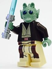 LEGO STAR WARS BOLLA ROPAL JEDI RODIAN CUSTOM 100% NEW LEGO PARTS GREEDO ALIEN