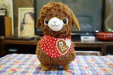 """Large Sweet Day 15"""" Llama Alpacasso Alpaca Alpaco Soft Plush Cushion Doll Brown"""