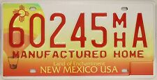 Original Nummernschild USA New Mexico 2000 plaque d'immatriculation TARGA