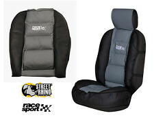 Ford Transit Connect Universal Race Sport Black & Grey Cushioned Front Seat Cove