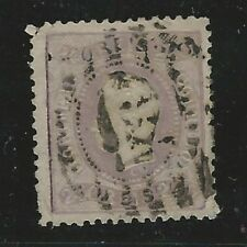 Portugal: Scott 33, Used, Have a pin hole, teeh corner broken Cat: 475,$. PT02