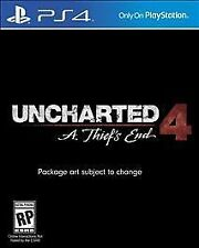 BRAND NEW Uncharted 4: A Thief's End (Sony PlayStation 4, 2016) PS4