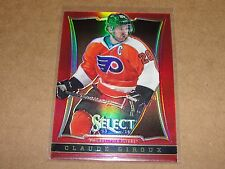 2013-14 Select CLAUDE GIROUX #96 Red Prizms Variant/35 Philadelphia FLYERS