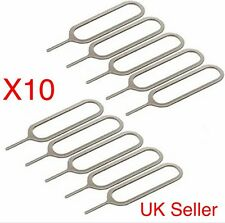 10 X Sim Ejector Card Removal Tray Pin Opener Tool For iPhone 4S 5 5S 6 ,6s iPad