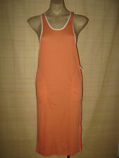 NEW original RETRO 80's GRUNGE apricot vintage stretch knit Dress size 10