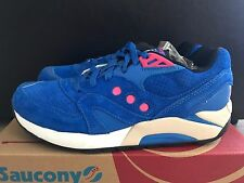 DS SAUCONY G9 MASTER CONTROL NEON NIGHTS BRIGHT BLUE - SIZE 9