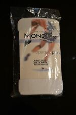MONDOR + ICE FIGURE SKATING TIGHTS + FOOTED + MODEL 3371 + WHITE 56 + SIZE 10-12