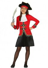 Déguisement Fille Pirate 7/8/9 ans Costume Enfant Capitaine