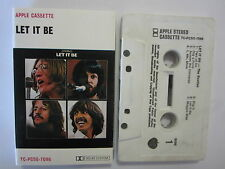 THE BEATLES LET IT BE AUSTRALIAN RELEASE CASSETTE TAPE PY