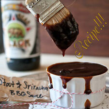 ☆Tenderizes☆Stout & Sriracha BBQ Sauce RECIPE☆Grilling or Baking☆King of BBQing☆