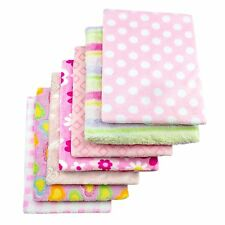 Cozy Fleece Baby Blankets for Girl, Assorted