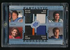 MATTHEW STAFFORD MCGEE SANCHEZ FREEMAN 2009 SPX FANTASTIC FOURSOME RC PATCH /10