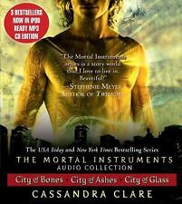 The Mortal Instruments City of Bones Ashes & Glass - First three books on MP3 CD