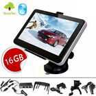 "Nozatec 7""inch GPS Car Navigation Bluetooth Wireless Reverse Camera SAT NAV 16GB"