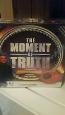 The Moment Of Truth Game Electronic Lie Detector Party Fox Tv New Factory Sealed