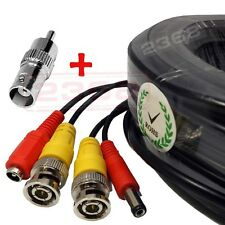 4x150ft Security Camera Video Power Cable BNC RCA CCTV DVR Surveillance Cord