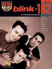 blink-182 Sheet Music Guitar Play-Along Book and CD NEW 000699772