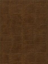 FD56905 Brown Leather Look Crocodile Reptile Skin Effect Wallpaper - SALE ITEM