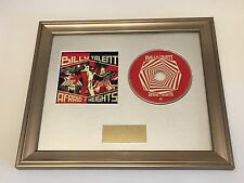 PERSONALLY SIGNED/AUTOGRAPHED JAKE BUGG - ON MY ONE FRAMED CD PRESENTATION. RARE