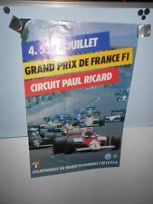 French Grand Prix 1986 0riginal Race Poster