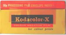 KODAK KODACOLOR X COLOUR FILM 120 FILM EXPIRED 1972  FILM