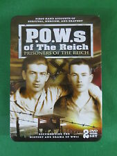 P.O.W.s OF THE THIRD REICH  2 DVDs Decorative Metal Box Set  Timeless Media 2008