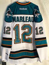 Reebok Premier NHL Jersey San Jose Sharks Patrick Marleau White sz S