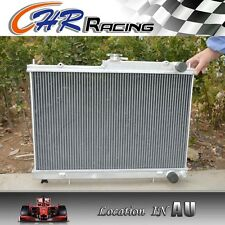 alloy aluminum radiator FIT NISSSAN SKYLINE R33 GTS-T RB25DET MANUAL