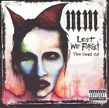 Marilyn Manson, Lest We Forget: The Best of (Bonus Dvd) (Coll), Excellent Explic