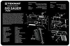 Sig Sauer P250 9mm TEK-MAT  Armorers Gun Cleaning Bench Mat