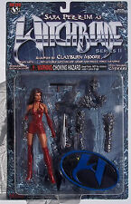 WITCHBLADE. SERIES II. SARA PEZZINI ACTION FIGURE. NOC. MOORE COLLECTIBLES