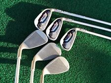 Womens Ping Serene Iron Set Golf Clubs 7,8,9,PW,SW,LW Very Good Cond. Red Dot