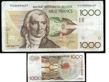 BELGIQUE  BELGIUM   1000 francs  1982  (  53406936437 )