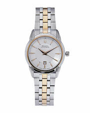 Accutron Women's 65M104 Sorengo Two Tone Quartz Stainless Steel Dress Watch