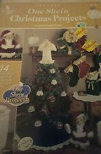 C012-2000 ANNIE'S ATTIC, ONE SKEIN CHRISTMAS PROJECTS, CROCHET