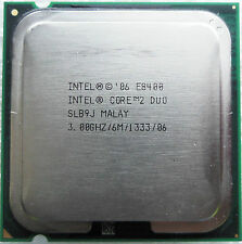 INTEL PROCESSORE E8400 CPU INTEL CORE 2 DUO SOCKET 775 3.00GHz/6MB/1333 SLB9J E0