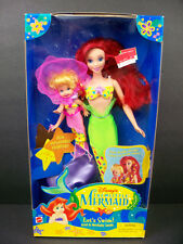 **NIB DISNEY DOLL 1995 THE LITTLE MERMAID LETS SWIM ARIEL & MERBABY SANDY