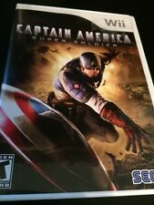 CAPTAIN AMERICA: SUPER SOLDIER (Wii)  Complete FREE SHIPPING
