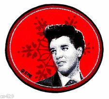 """2.5"""" ELVIS PRESLEY KING ROCK N ROLL CHRISTMAS HOLIDAY FABRIC APPLIQUE IRON ON"""