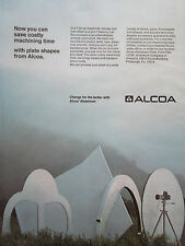 7/1972 PUB ALCOA ALUMINIUM PRECISION FORGING AEROSPACE INDUSTRY ORIGINAL AD