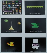 Atari - a set of 6 postcards