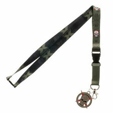 OFFICIAL DC COMICS SUICIDE SQUAD TASKFORCE X SYMBOL LANYARD (BRAND NEW)
