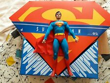 HOT TOYS SUPERMAN 1/6 30CM CHRISTOPHER REEVE COMO NUEVO MAN OF STEAL
