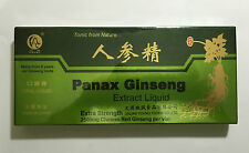 3x Red Panax Ginseng Extract Oral Liquid 10 Vials Feng or Harbin Sanjing EKG